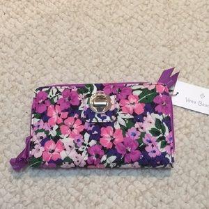 Vera Bradley RFID Turnlock wallet Flower Garden